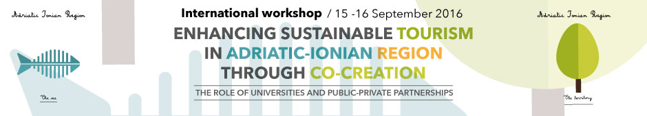 Banner International Workshop Adriatic Ionian Region