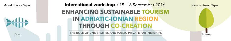 Banner International Workshop Adriatic Ionian Region