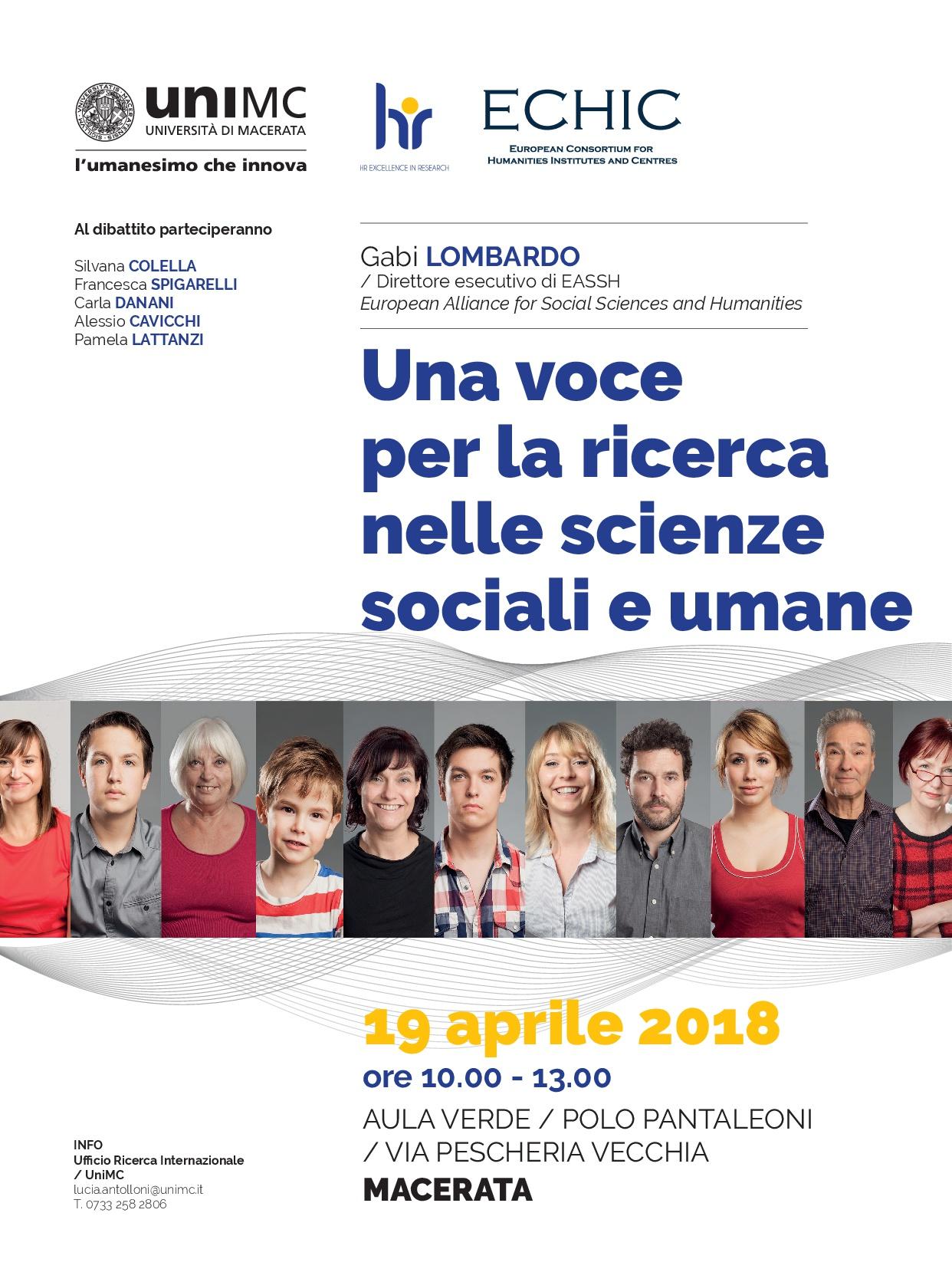 Una voce per la ricerca nelle scienze sociali e umane